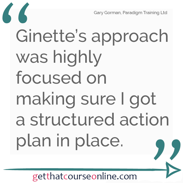 Gary structured action plan