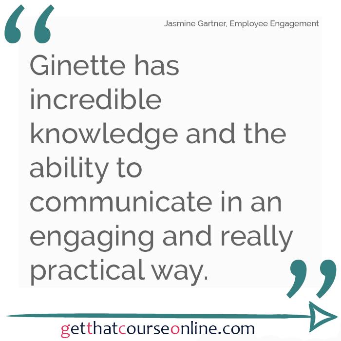 Jasmine Ginette Communication Style