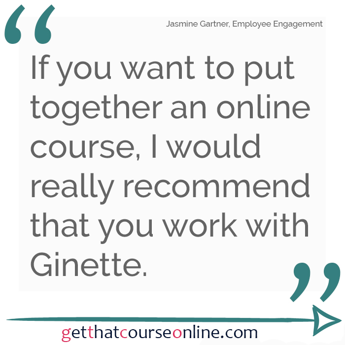 Jasmine Recommend Ginette
