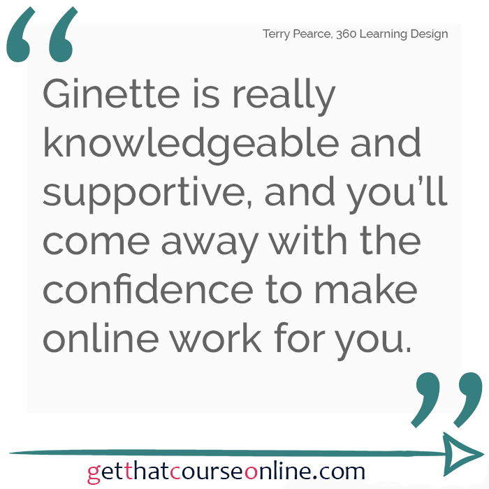 Terry Ginette supportive confidence